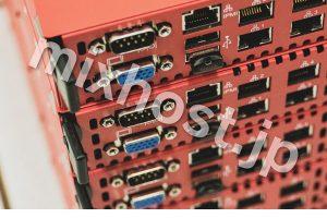赤いサーバー
